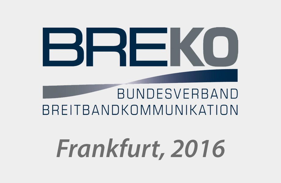 Icotera is exhibiting at the BREKO Glasfasermesse in Frankfurt