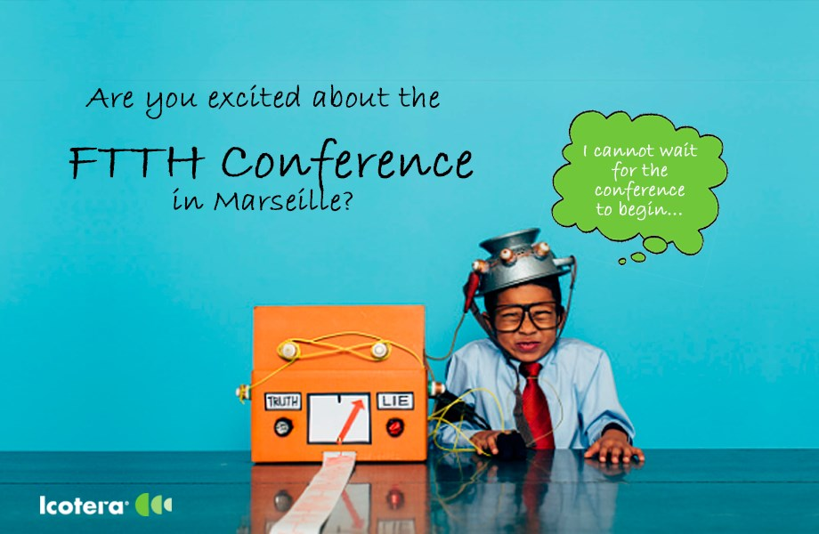 Icotera is attending the 2017 FTTH Conference
