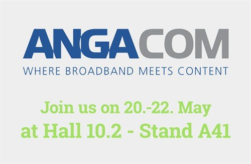 Icotera will be at ANGA COM in Cologne May 20-22