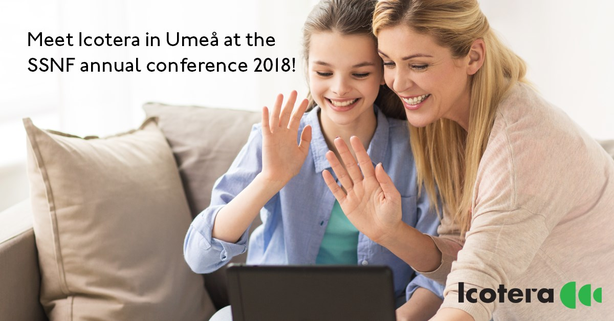 Meet Icotera in Umeå at the SSNF annual conference 2018!
